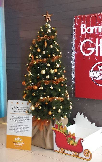 In partnership with a local non-profit organisation Home & Family Parenting. A Christmas charity tree is located at Barrington to provide an opportunity for ...